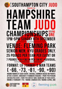 Hampshire Team Judo Championships 1/4